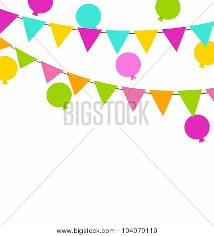 Buntings Flags Pennants and Balloons