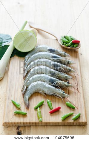 Tom Yum, Thai Spicy Shrimp Soup Ingredient