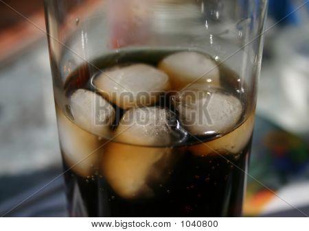 Cola On Ice Closeup