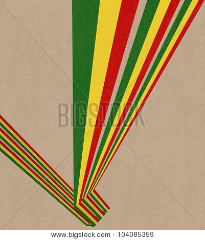 Abstract Rasta Background