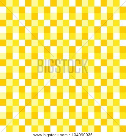 Seamless Background with Yellow Tiles