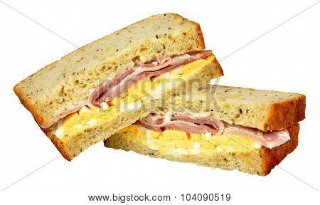 Ham And Egg Sandwiches