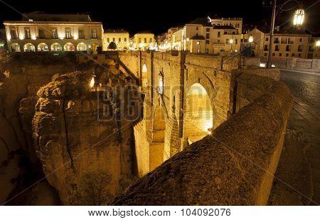 Puente Nuevo From Town, Ronda