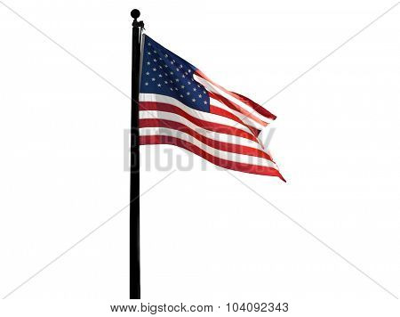 Beautiful Image Of The American Flag