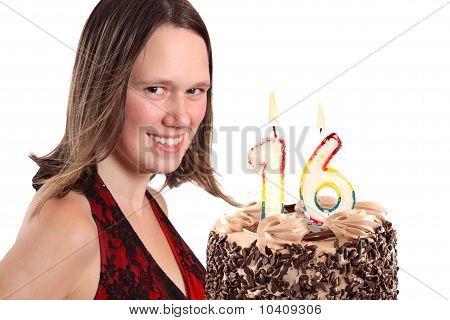 Sixteen Year Old Teenage Girl Birthday