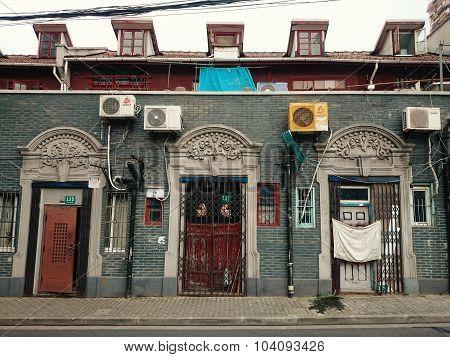 Shanghainese House Facade