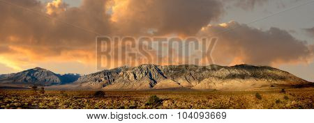 Beautiful Image of the majestic Sierra Nevada Mountain Range in California