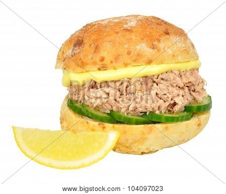 Tuna And Cucumber Sandwich Roll