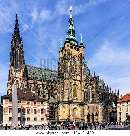 The Metropolitan Cathedral of Saints Vitus Wenceslaus and Adalbert