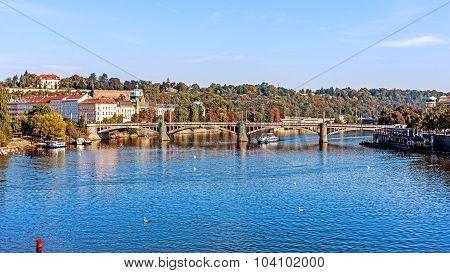 View on the Vltava River