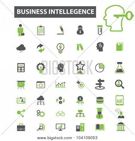 business analytics icons