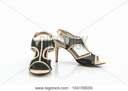 Black High Heel Women Shoes.