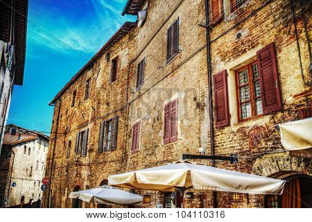 Old Building In San Gimignano