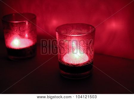 Red Candlesticks.