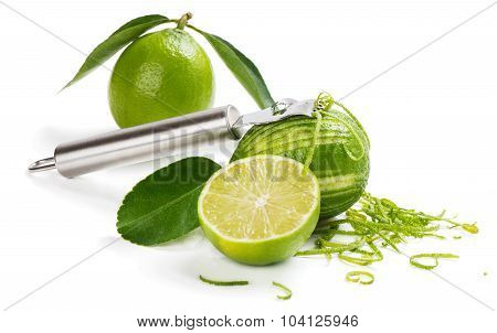 Making Lime Zest