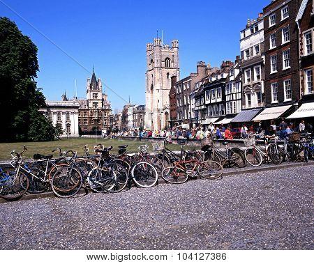 Kings Parade, Cambridge.