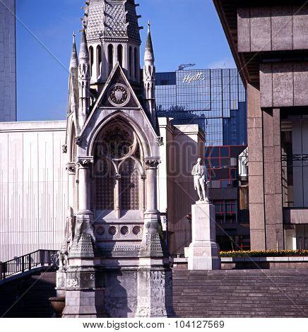 Chamberlain memorial, Birmingham.