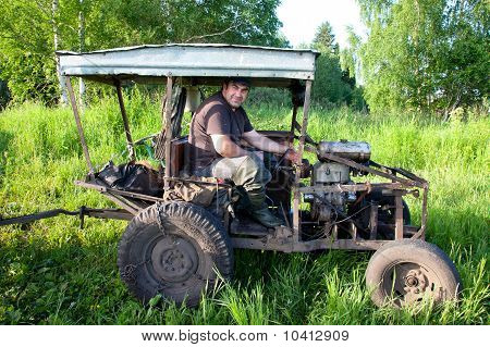 Home-made Tractor