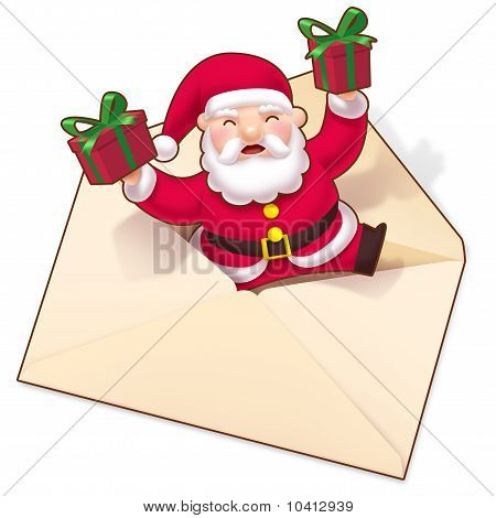 Season's greetings from Cute Santa