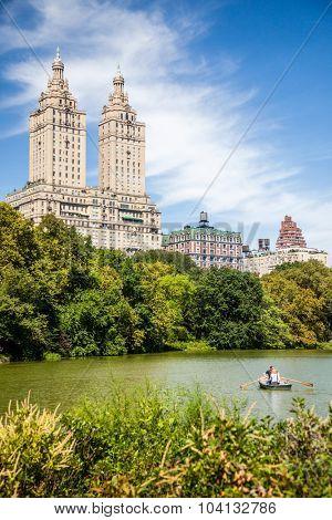 NEW YORK CITY, USA - CIRCA SEPTEMBER 2014: Central Park in New York City