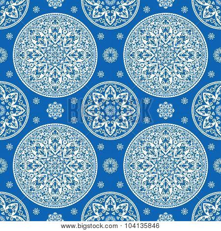 Luxurious Mediterranian Vintage Seamless Pattern