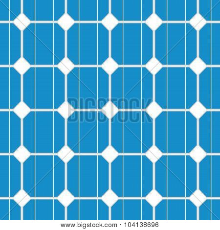 solar cell seamless