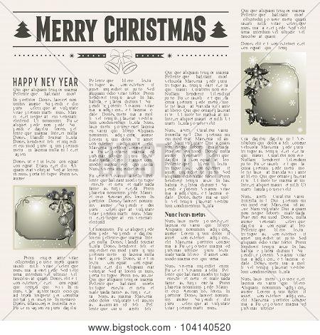 Festive Newspaper
