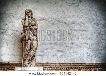 Thusnelda Statue In Loggia De Lanzi In Florence