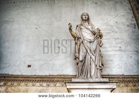Sabina Statue In Loggia De Lanzi In Florence