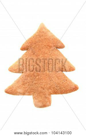 Ginger Bread Tree Isolated