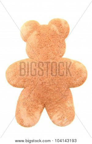 Ginger Bread Bear Isolated