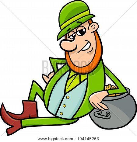 Saint Patrick Leprechaun Cartoon