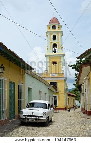 Saint Francis church in Trinidad (Cuba)