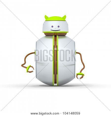 An image of a sweet little robot