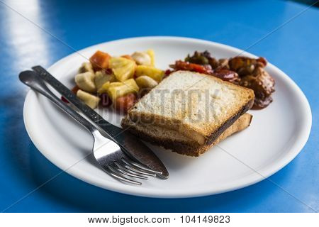 India Buffet Dish
