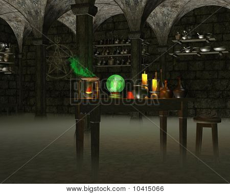 The Alchemist's Laboratory