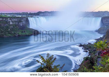 Niagara Falls at Twilight