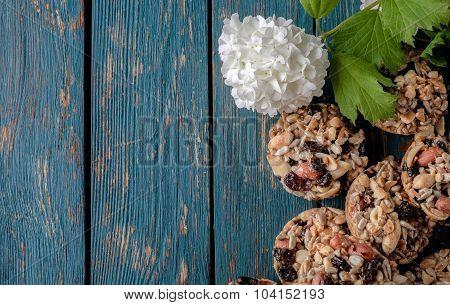 Kozinaki, Briquettes Of Sunflower Seeds, Candied Sugar, Caramel Or Honey