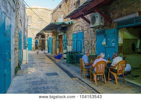 Alley Scene, Acre