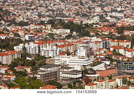 Funchal Aerial View