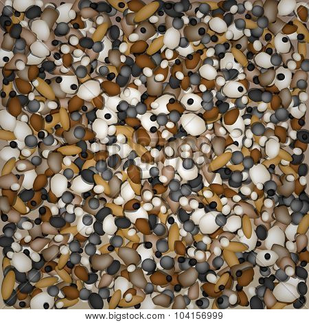 Pebbles Background For Design And Decorate.