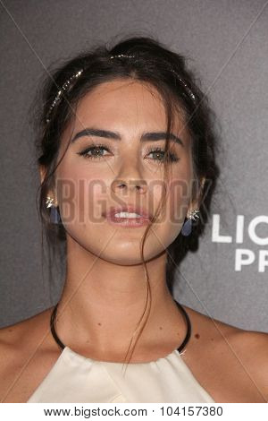 LOS ANGELES - OCT 7:  Lorenza Izzo at the