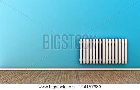 Radiator On A Wall