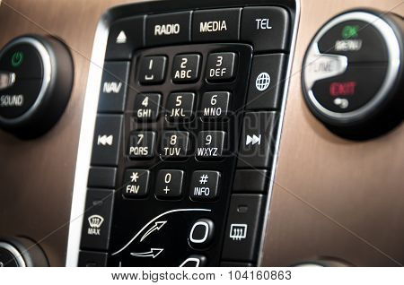 Modern Car Control  Center