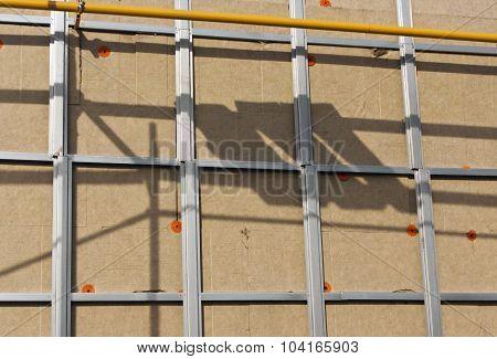Wall Ready For Siding.