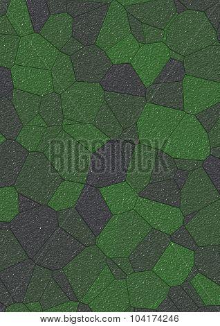 Artificial paving mosaic texture