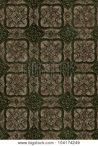 Abstract ornamental and decorative texture