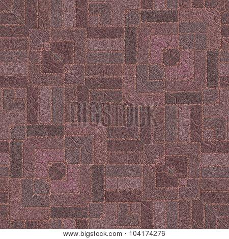 Artificial ornamental garden pavement background