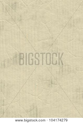 Artificial blank cardboard paper texture