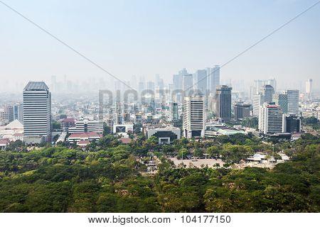 Jakarta Aerial View
